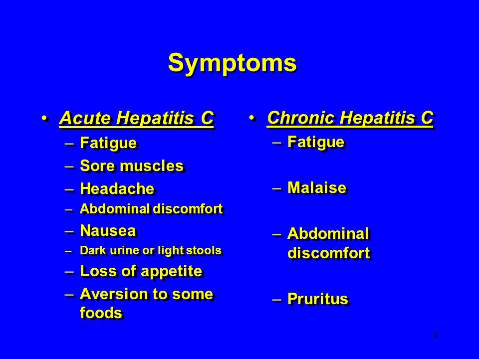 hepatitis c urin