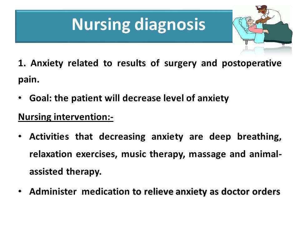 nursing diagnosis for tka