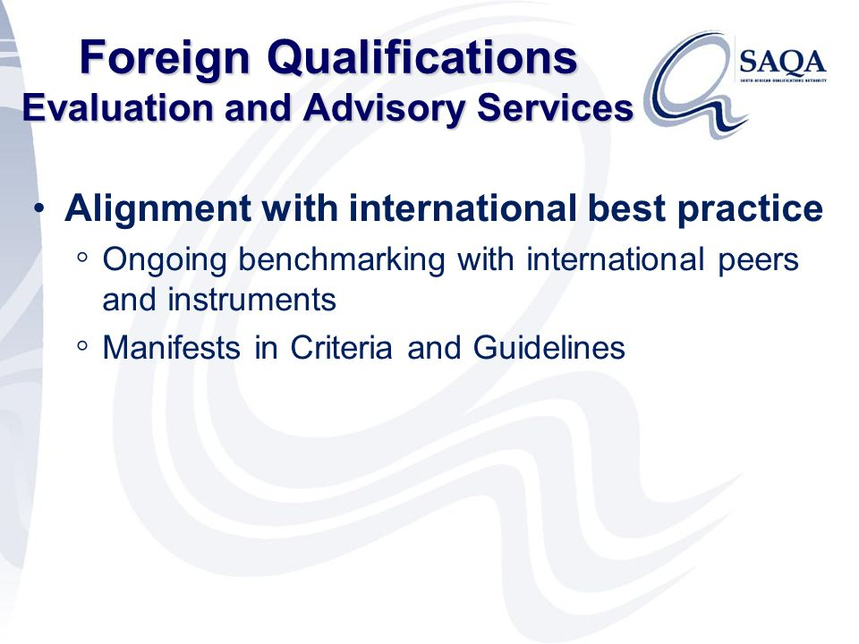 Saqas Role In The Brave New Nqf World Ppt Download