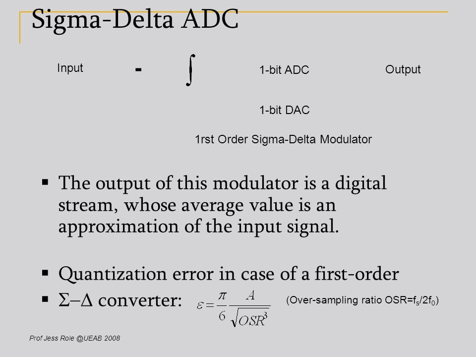 ANALOG - DIGITAL CONVERTERS Lecture ppt download