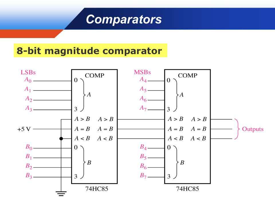 4 Bit Magnitude Comparator Circuit Diagram Trusted Wiring Diagram