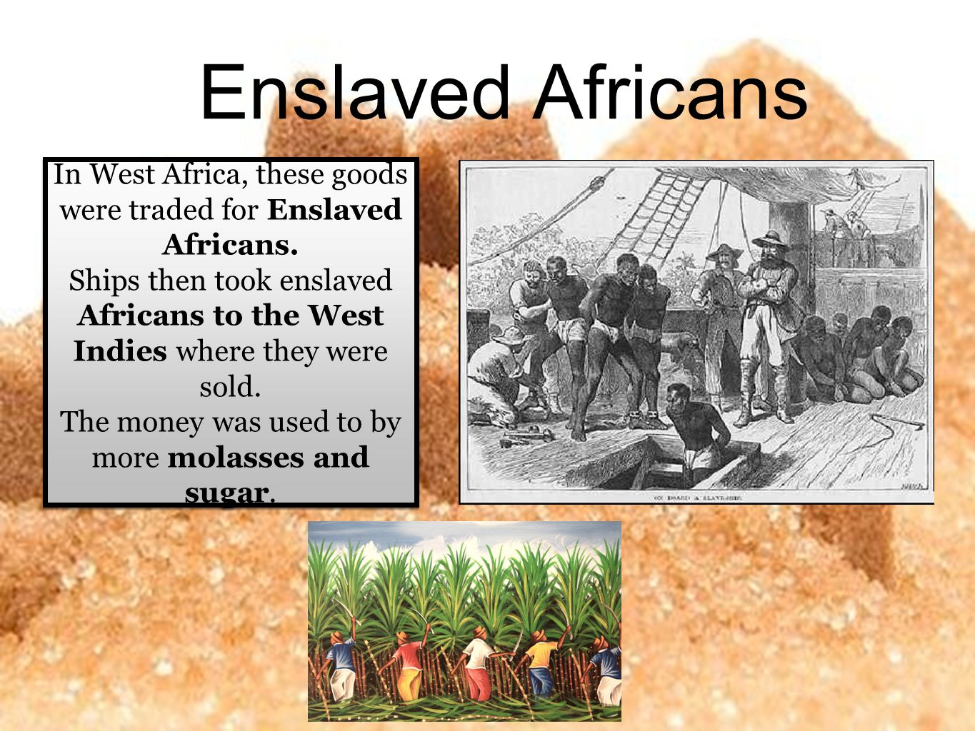 why was it difficult for the enslaved africans to practice their culture on the plantation The practice was later adopted by africans themselves however, until europeans appeared in africa in the 15th century, african slavery was a different and much smaller-scale institution under the african system, some slaves served as soldiers or craftspeople, and most were treated well and worked as farmers.