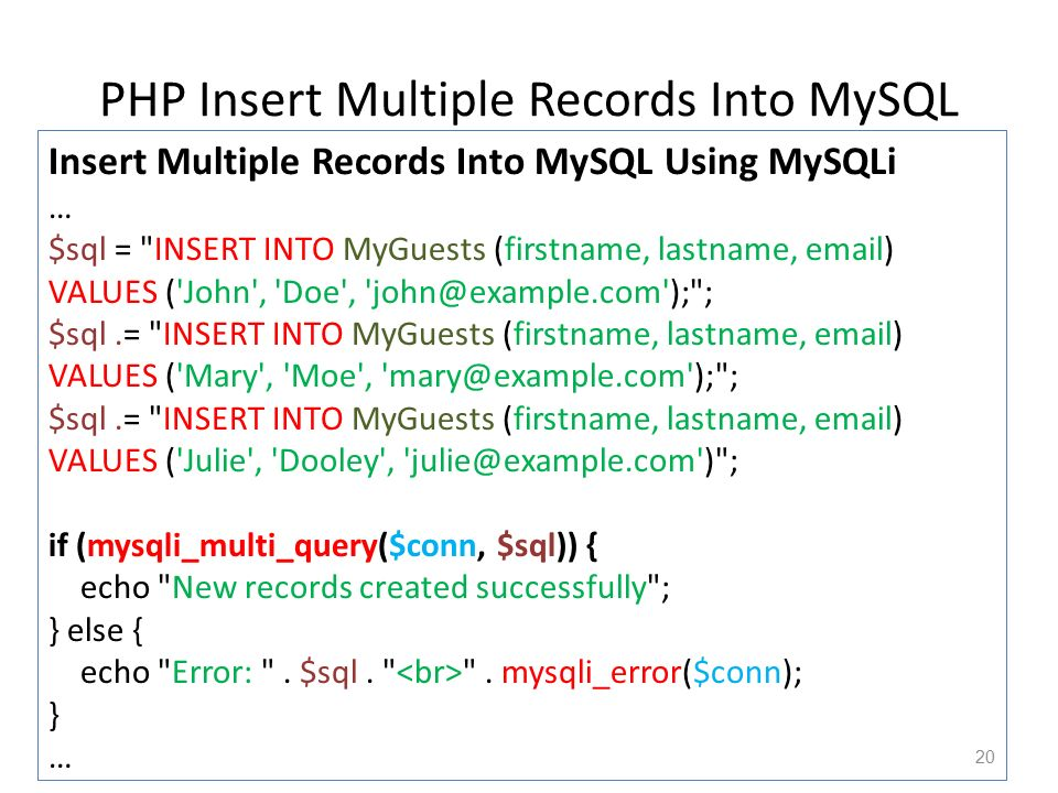 Chapter 10 Php Mysql Database Ppt Video Online Download