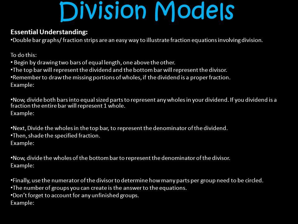 Division bar diagram equation online schematic diagram chapter 2 fractions part 3 ppt video online download rh slideplayer com bar model addition blank ccuart Images