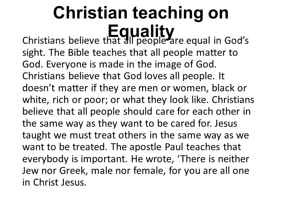 christian teachings essay Christianity has played a very important role in cultivating the people's ideas although christian  their teachings have helped to  in this essay, i am going.
