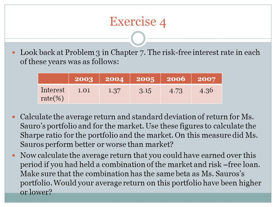 portfolio theory and the capital asset pricing model ppt download