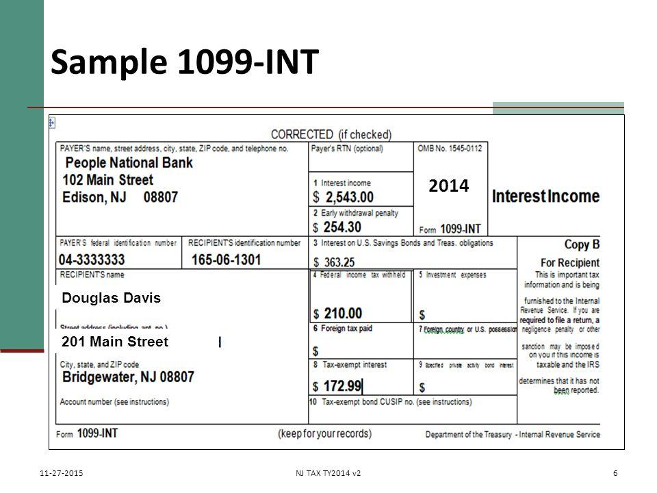 Interest Dividends Pub 17 Chapters 7 8 Pub 4012 Tab D Ppt