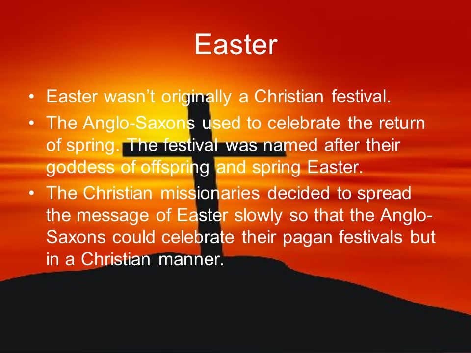 The Meaning Of Easter Ppt Video Online Download
