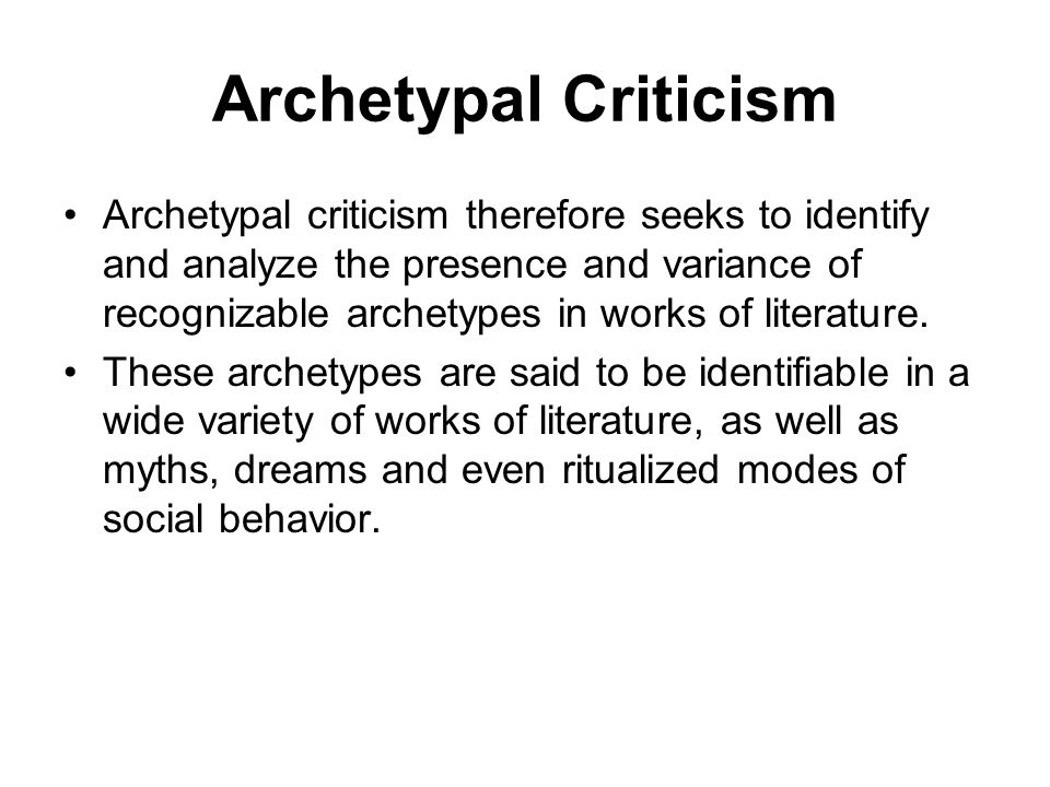 what is the definition of criticism