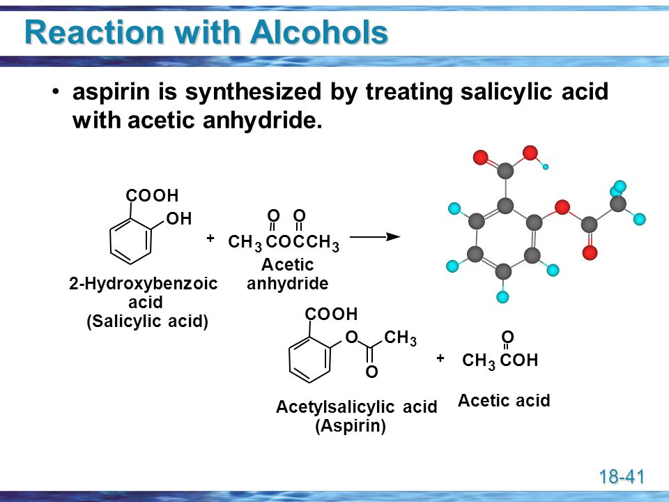 41 Reaction With Alcohols