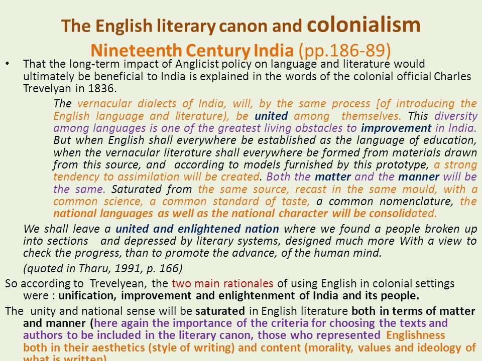 literary canon meaning