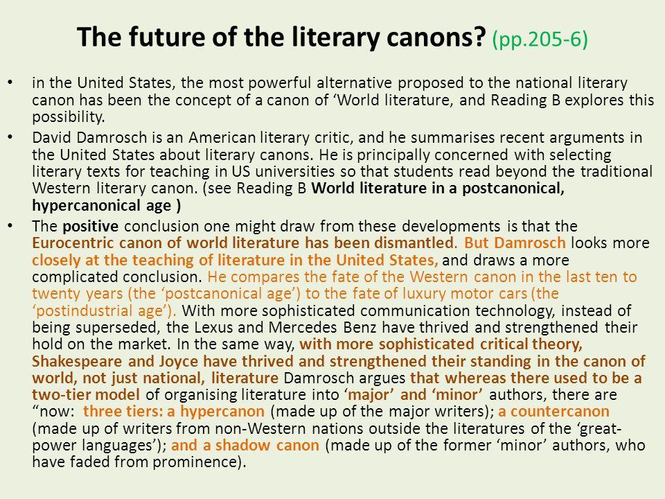 american literary canon