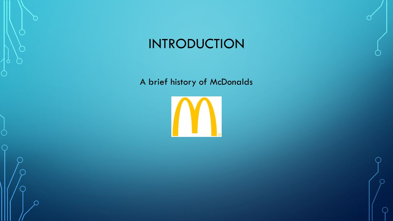 what is mcdonalds mission statement