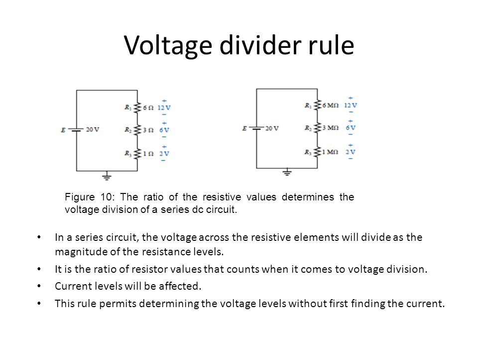 series circuits ppt video online downloadThe Voltage Divisionsin A Series Circuit Can Be Determined #2