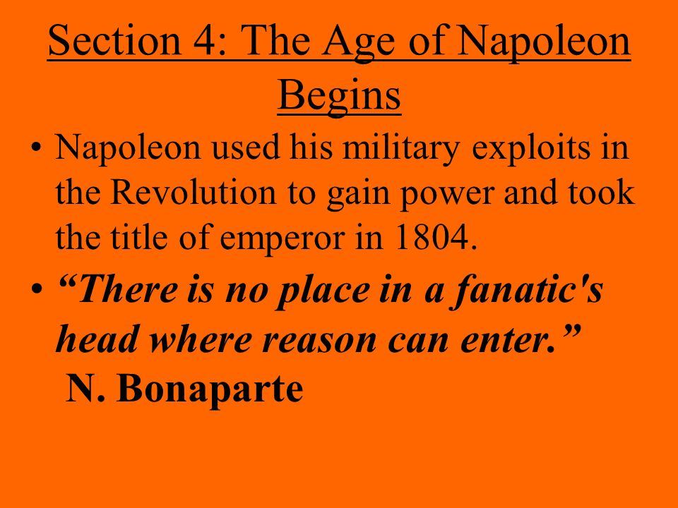 The French Revolution And Napoleon Ppt Download
