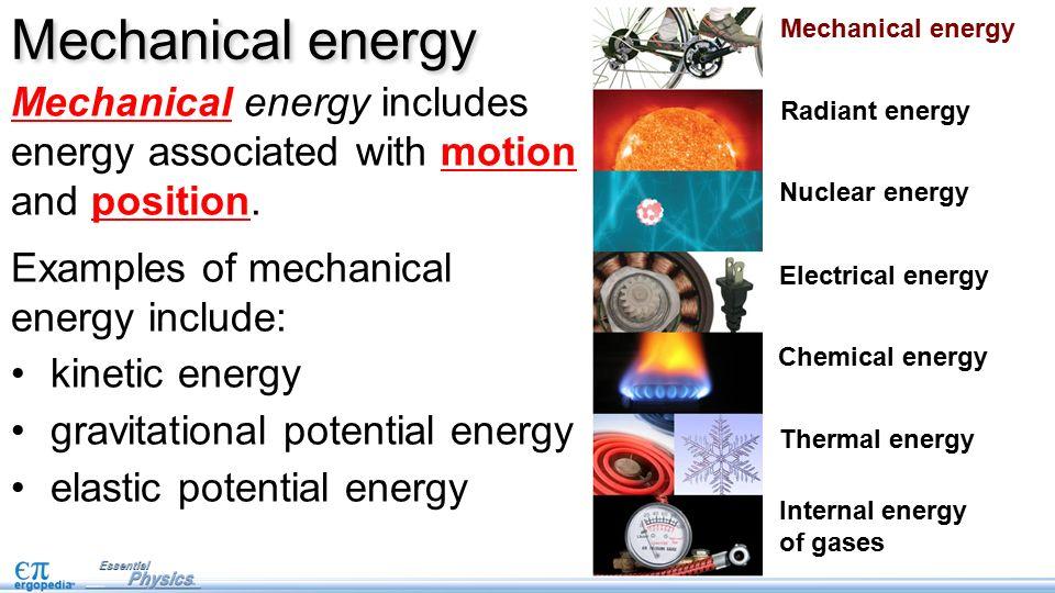 What S Mechanical Energy - Ace Energy