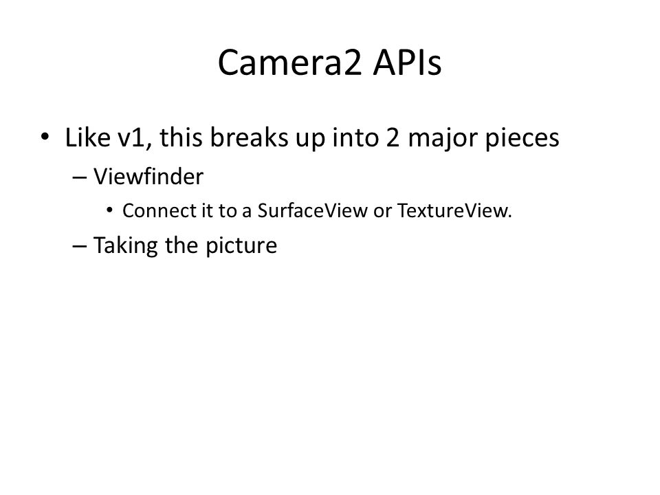Android media Part 2: Pictures and Video - ppt download