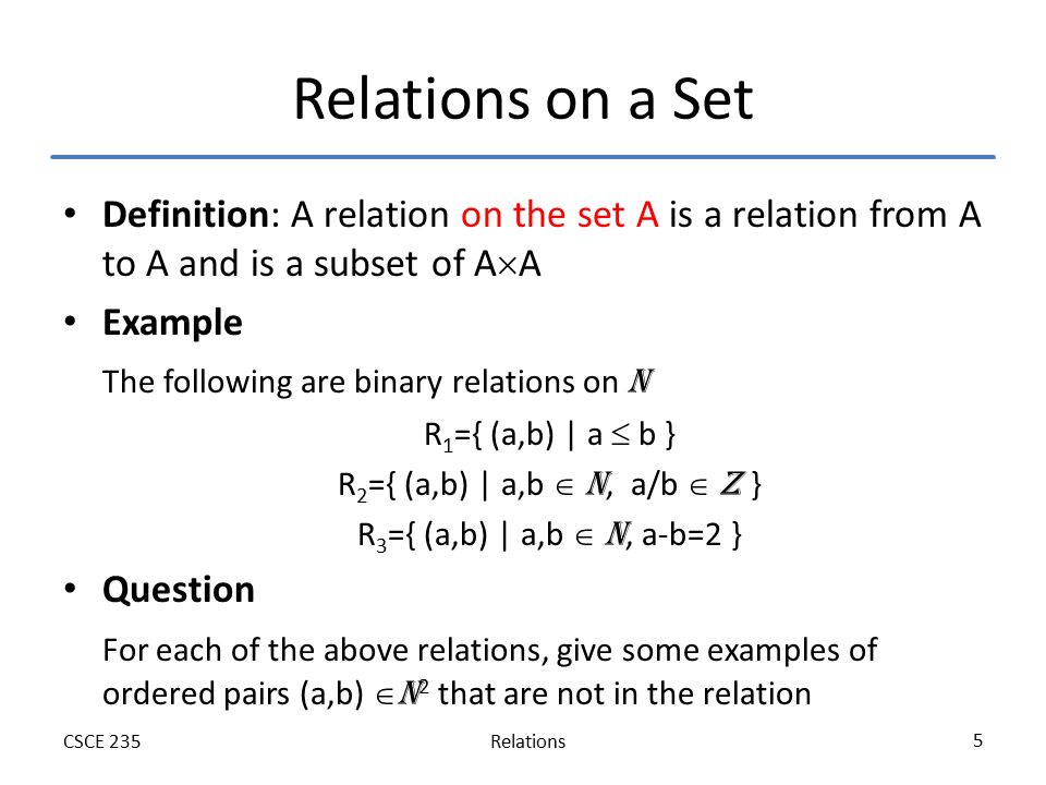 Relations Section 91 9395 Of Rosen Spring Ppt Video Online Download