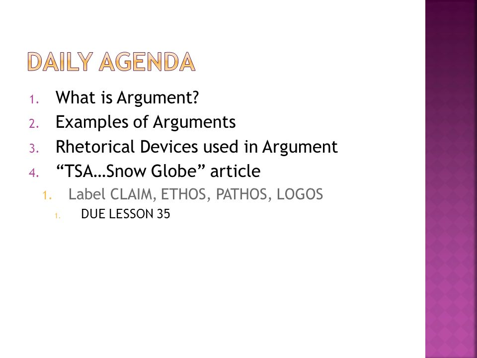 Lesson 34 Difference Between Argument And Persuasion Persuasion Is