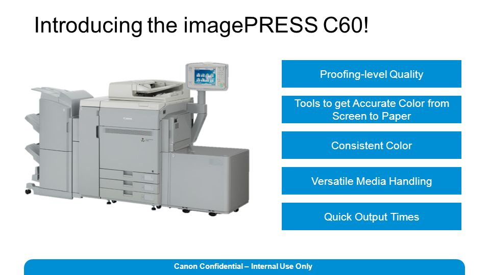 Drivers Canon imagePRESS C1 PS Printer