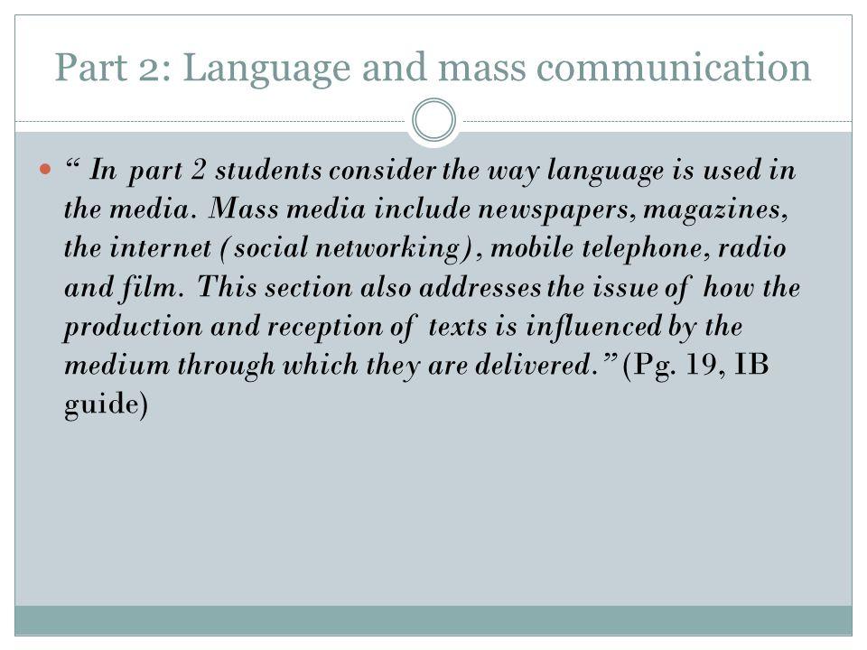 IB: Language and Literature - ppt download