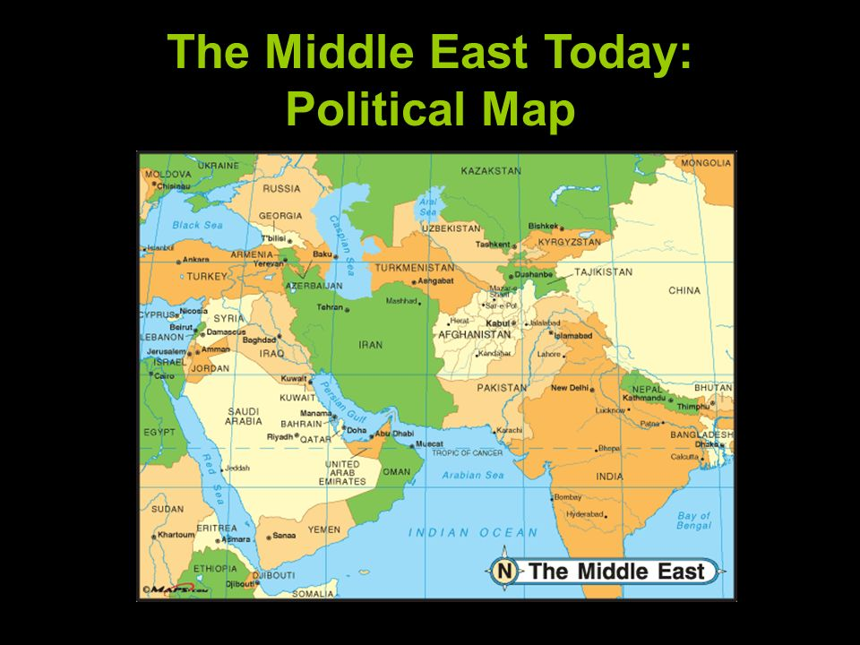 The Geography of the Middle East - ppt download