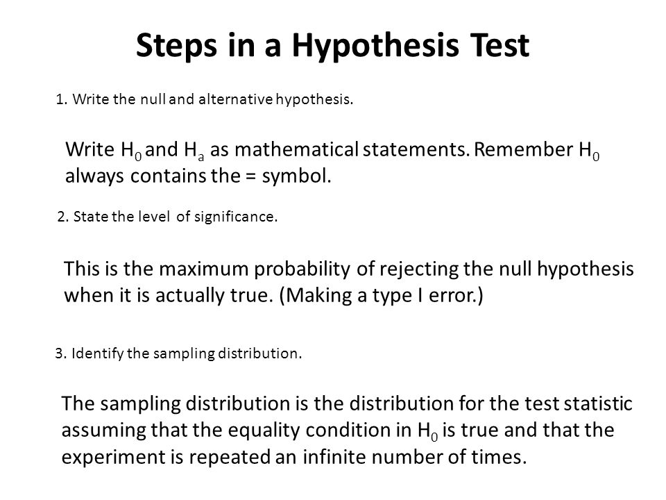 Introduction To Hypothesis Testing Ppt Video Online Download