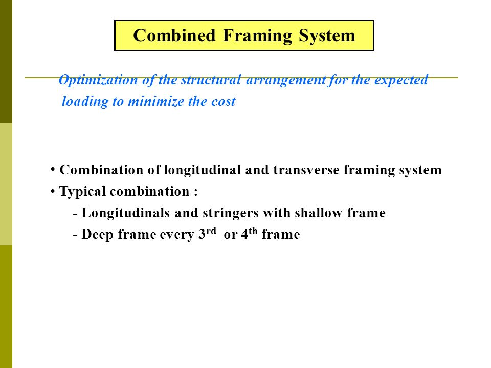 Lecture 2: Ship structural components - ppt video online download