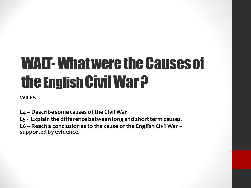 what was the biggest cause of the civil war