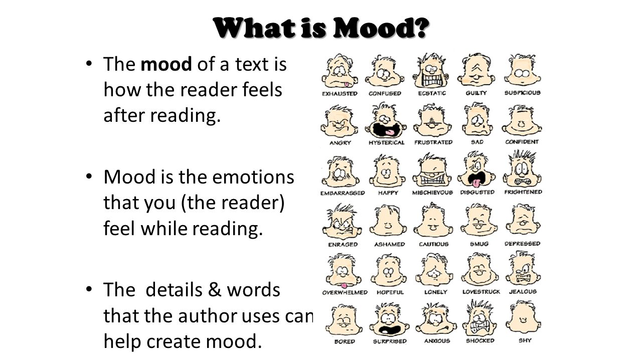 What is the mood 70