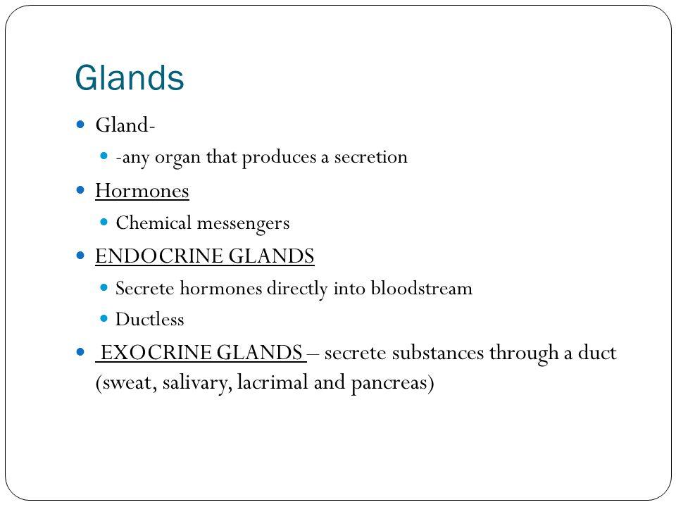 Endocrine System Health Science Ppt Video Online Download