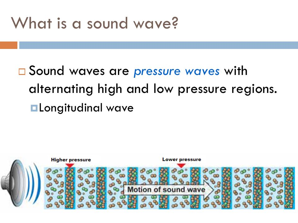 3 What Is A Sound