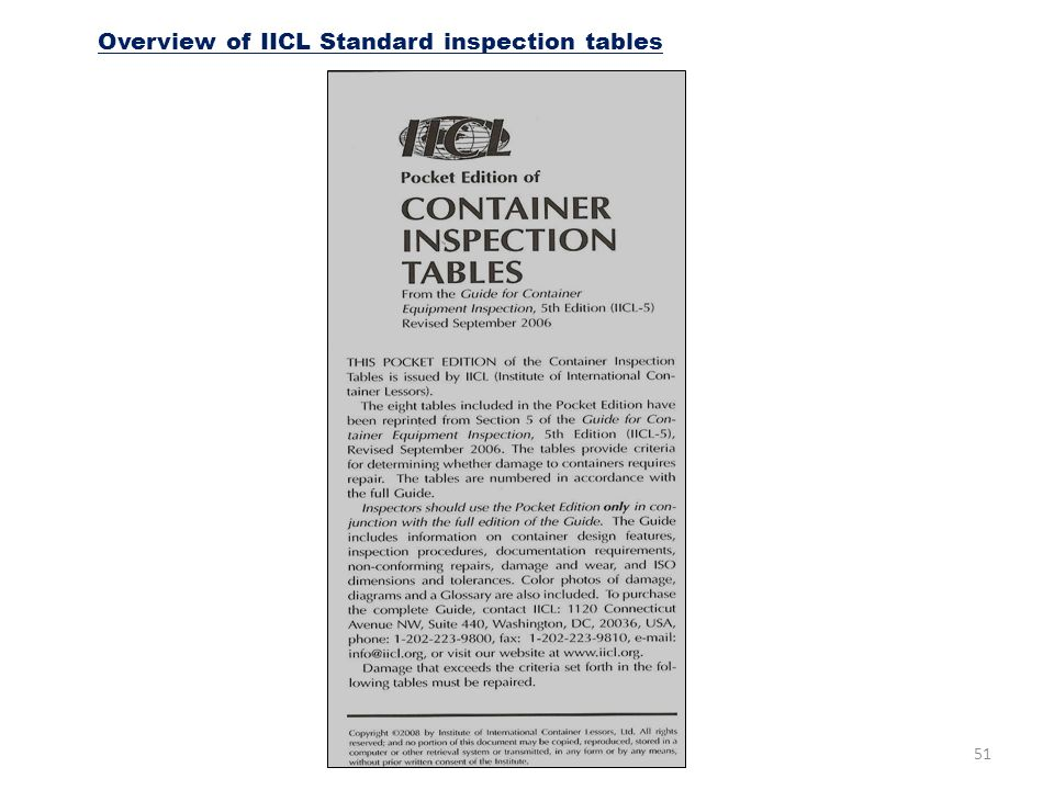 ports and maritime organization ppt download rh slideplayer com 7-Point Container Inspection Damaged Container Inspection
