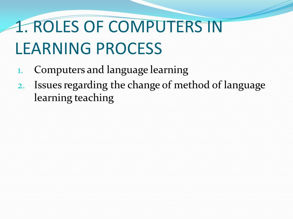 ICT IN LANGUAGE LEARNING - ppt video online download