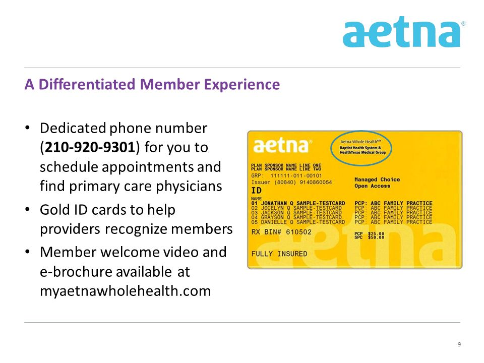 Introducing Aetna Whole Health – - ppt download