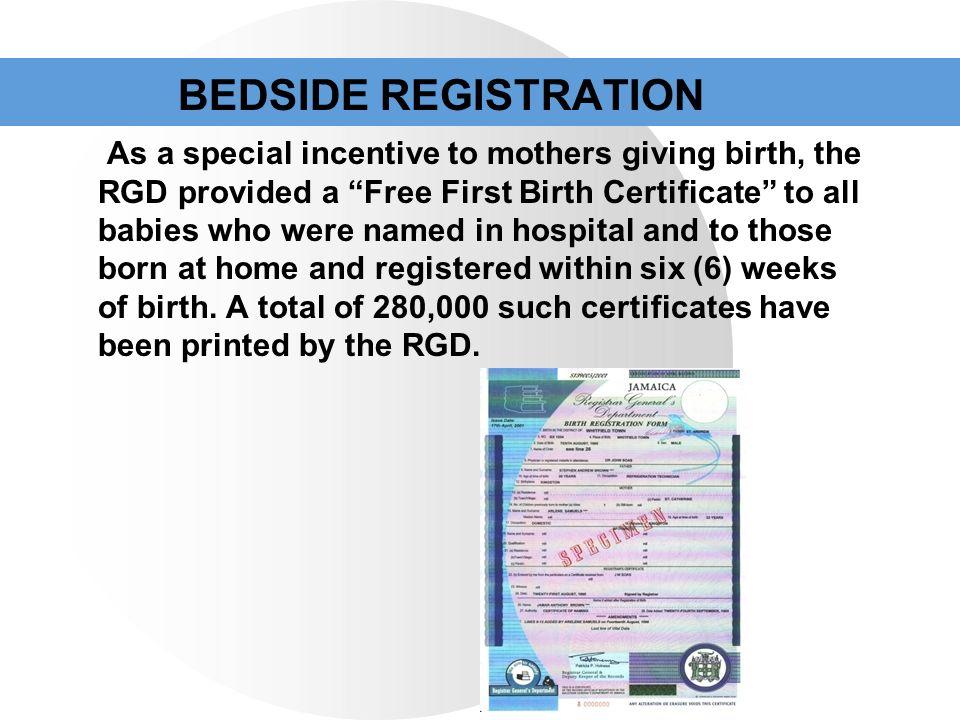 Registrar General\'s Department Jamaica - ppt video online download