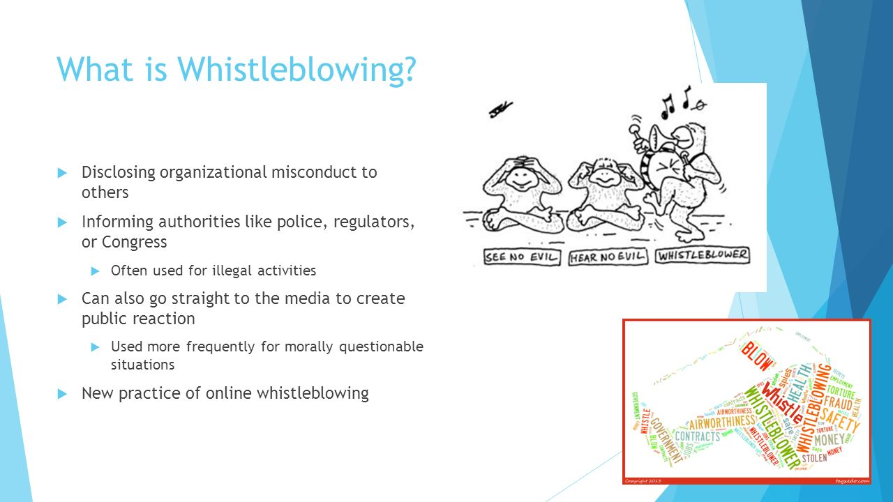 childcare poor practice and whistleblowing Whether you are designing a whistleblowing policy and procedures or evaluating established arrangements, our whistleblowing benchmark – the first of its kind – offers your organisation practical steps, telling you what you should be doing, and when.