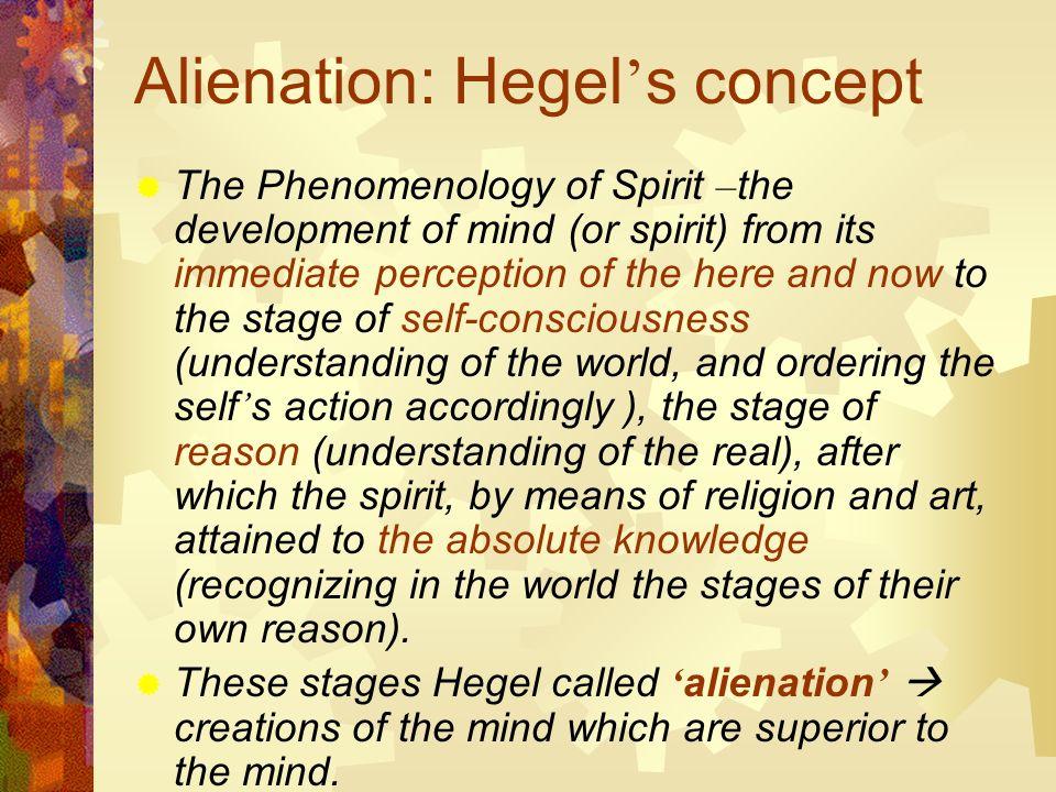 Hegel Alienation