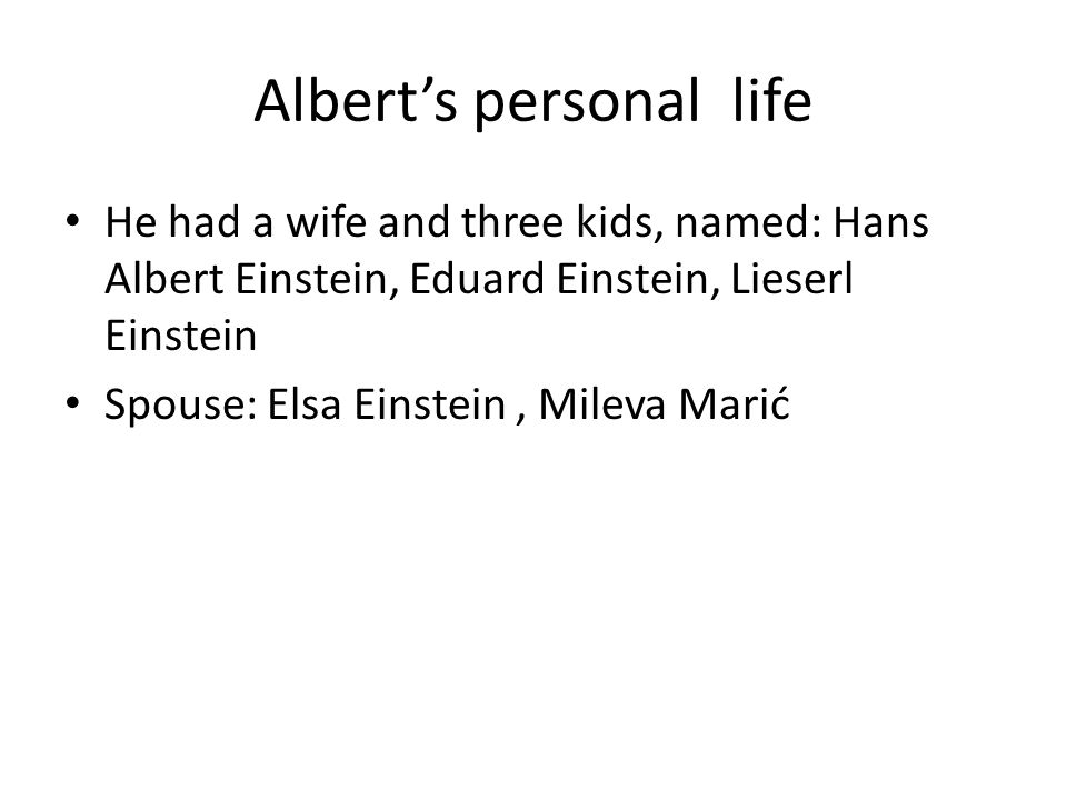 Albert Einstein  - ppt download