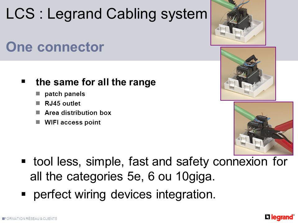 Legrand cabling system lcs ppt video online download lcs legrand cabling system cheapraybanclubmaster Choice Image
