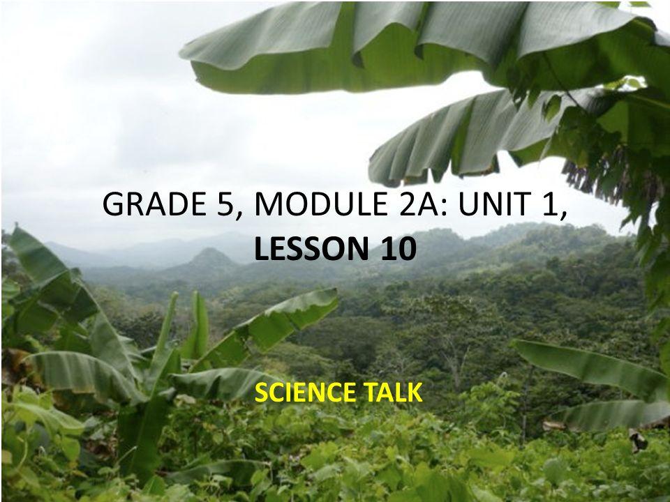 GRADE 5, MODULE 2A: UNIT 1, LESSON ppt download