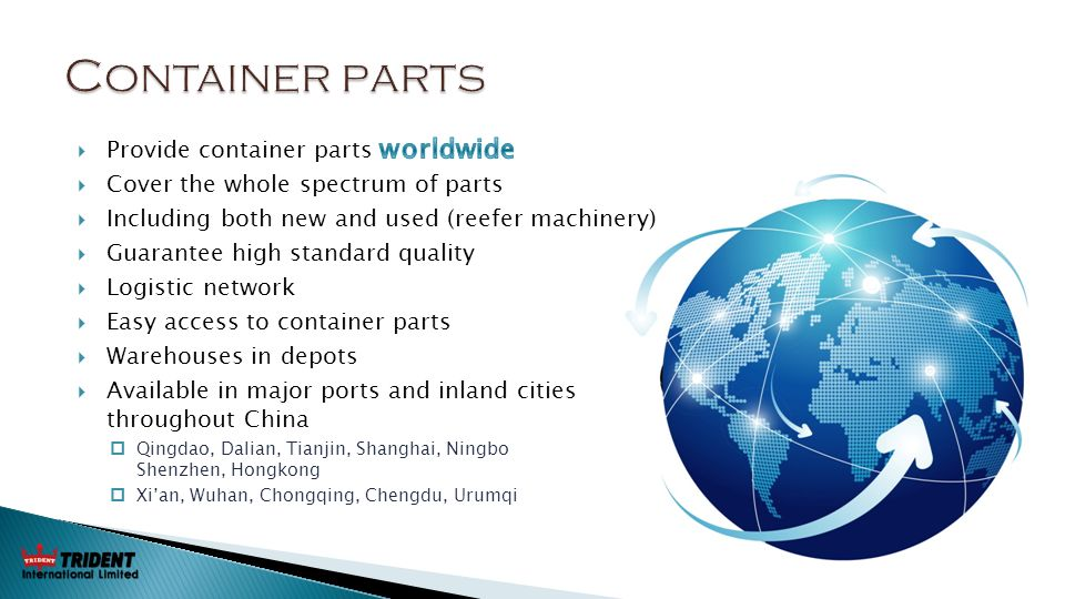 Trident International Ltd - ppt video online download