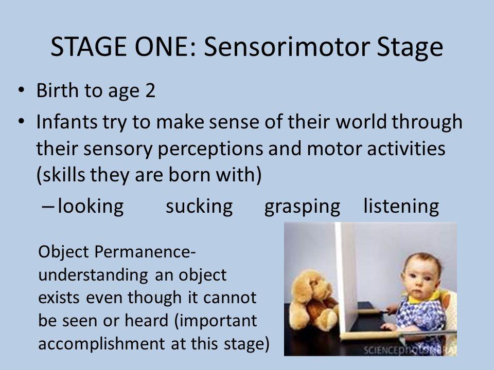 sensorimotor stage jean piaget
