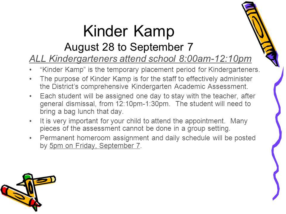 Kindergarten Parent Orientation Ppt Video Online Download