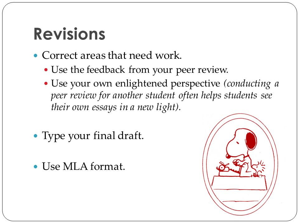 conducting peer review essay To conducting peer review of an ps essay procedures: 1 download your friend's file and save it as a different file name, eg anne_ reviewed_by_jose 2 then, spend several minutes reading through the essay just to obtain a global picture of its structure and what it is about (ie preview.