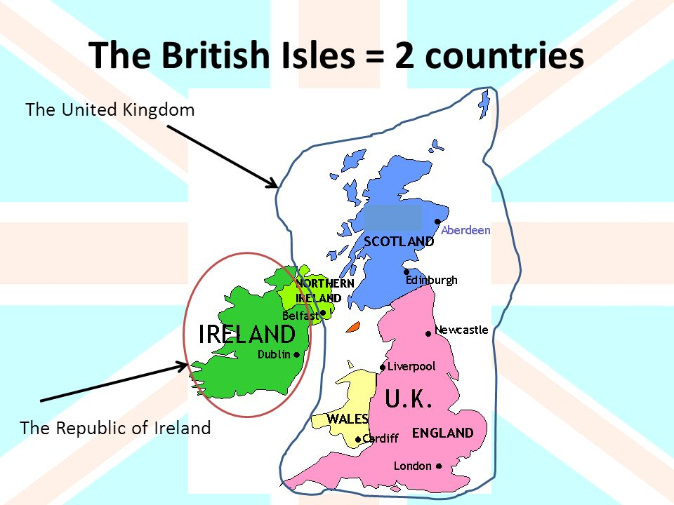 The British Isles 2 Countries Ppt Download
