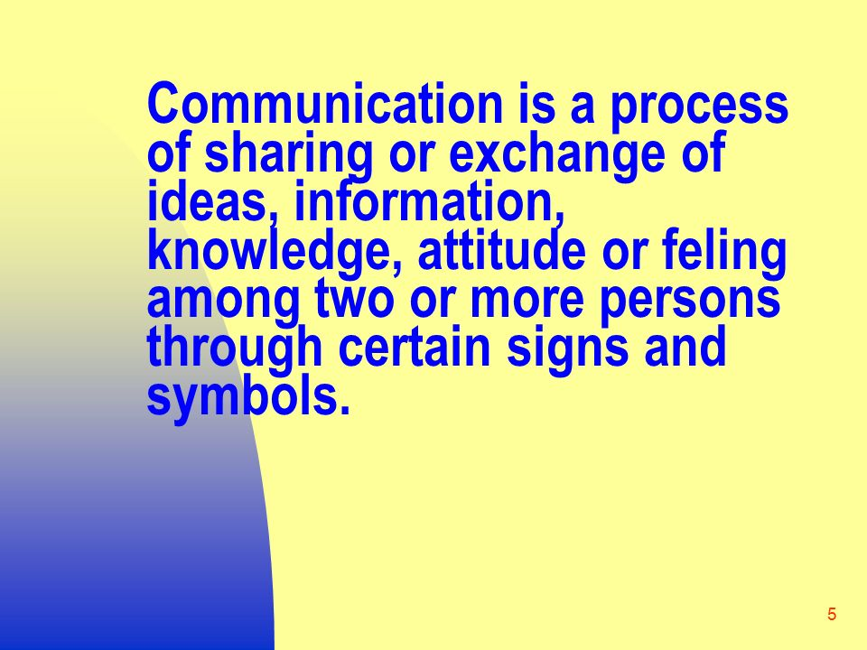 Communication Concept Process And Function Ppt Video Online Download