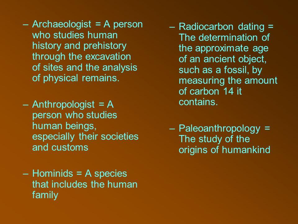 Carbon dating origin