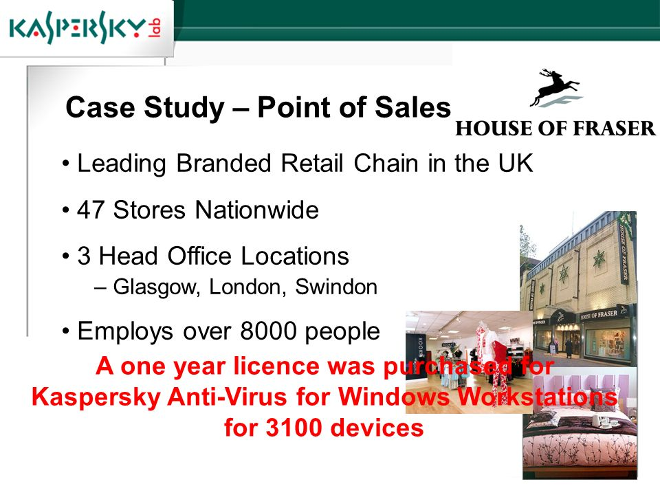 Case Study – Point of Sales