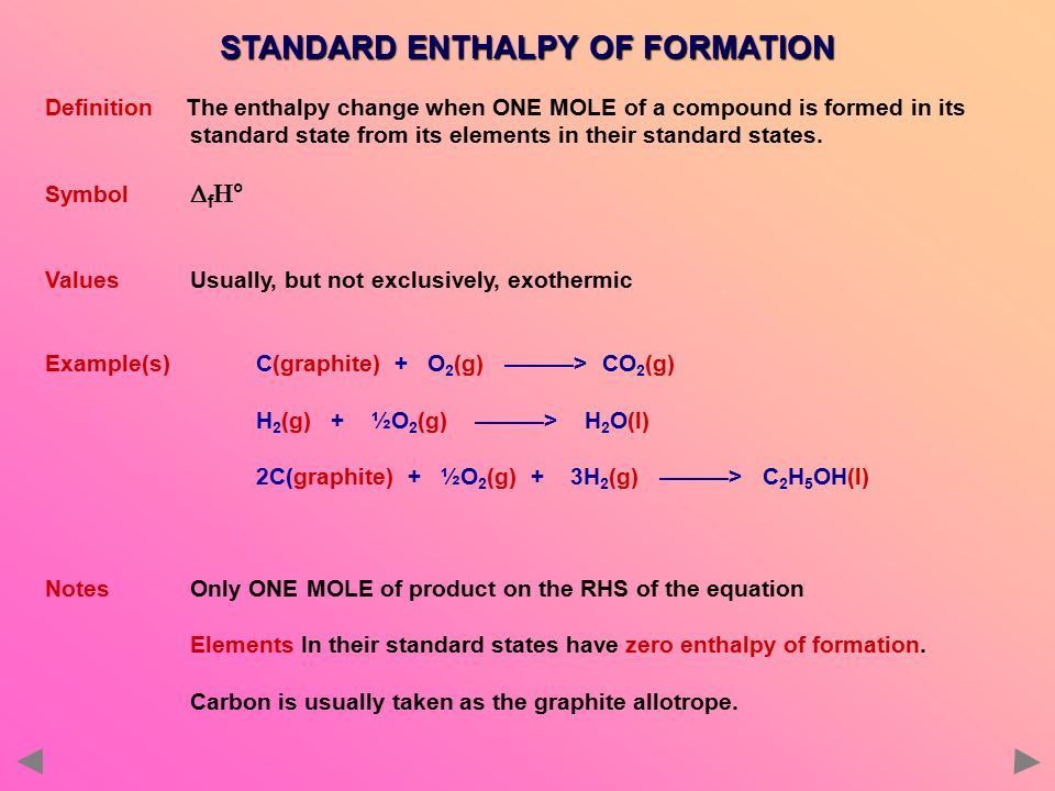 Enthalpy Changes Ppt Download